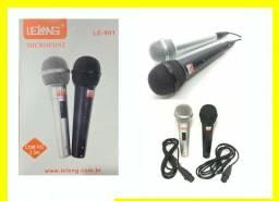 Título do anúncio: Par de microfone com fio
