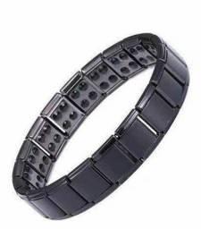 Pulseira bracelete tipo terapia unissex - pronta entrega