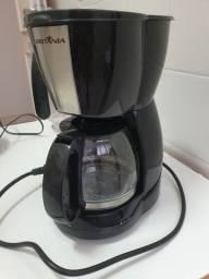 Cafeteira Britânia CP15 Inox Preta