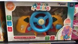 Título do anúncio: Brinquedo Educativo de Aprender A dirigir com luz e som 75R$