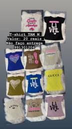 Título do anúncio: T-shirt feminina
