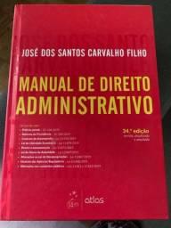 Título do anúncio: Manual de Direito Administrativo