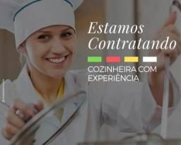 Vaga para Cozinheiro / Auxiliar de Cozinha