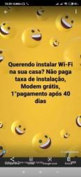 Título do anúncio: Wi-Fi fibra
