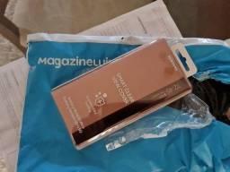 Capa protetora Galaxy Note20 Smart Clear View Bronze
