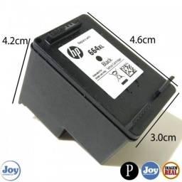 Cartucho HP 664 XL Preto Original - ( á segue cheio pronto para uso)
