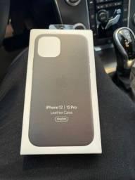 Título do anúncio: Capa de couro original Apple para iPhone 12 e 12 pro