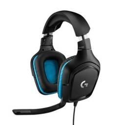 Headset Gamer Logitech G432 7.1 Surround drivers 50mm