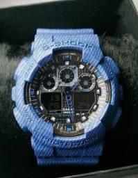 Título do anúncio: Relógio Casio G-Shock 1°Linha - Edição Jeans - Unissex