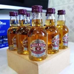 Miniatura Whisky Chivas 12 Anos - 50ml - Original, Lacrada e Licenciada