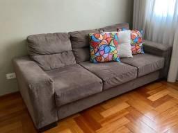 Vendo jogo de 2 sofas