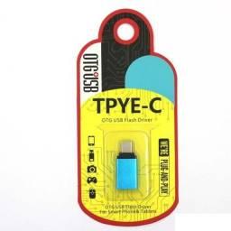 OTG Tipo C p/ USB 3.0 Adaptador
