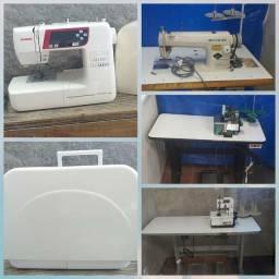 Máquinas e Material de Costura (leia o anúncio)