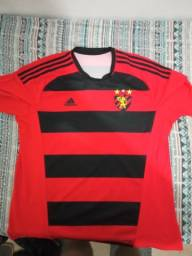 Camisa Sport Recife 2016 Autografada