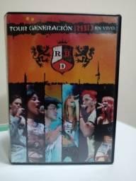 DVD Show do RBD Original.