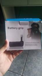 Grip de baterias para câmera
