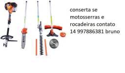 Título do anúncio: Mecanico de motosserras e rocadeiras