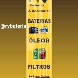 Baterias e acessório