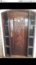 Título do anúncio: Porta Madeira colonial reforçada