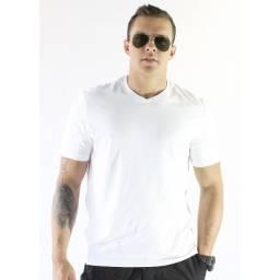 Camiseta Básica Malha Com Algodão - Hering