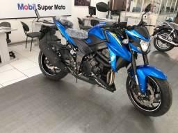 Título do anúncio: Gsx-s 750 azul 0km pronta entrega!