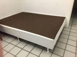 Título do anúncio: Base para Cama Box Casal Corino Branco - Ortobom