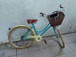 Bike vintage feminina nova