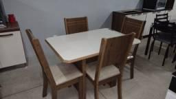 Mesa  mesa  de jantar  4 lugares new charme - entregamos  e  montamos