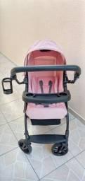 Carrinho de Bebê Burigotto modelo Lyra - Estado de Novo!