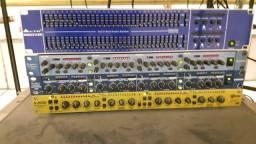 Equalizador / Compressor / Gate / Efeito / Filtro de linha