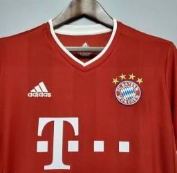 Camisa do Bayern deMunique  2021 oficial.