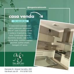 Título do anúncio: CASA NOVA ALTO PADRÃO, BAIRRO NOBRE  - Jaú - SP