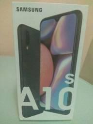 Samsung Galaxy A10S Preto [Lacrado com nota fiscal]