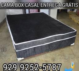 cama box casal espuma  entrega gratis %%%!