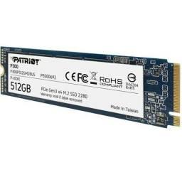 SSD Patriot M.2 NVME, 512GB, 2280 PCIe GEN3X4, novo, original