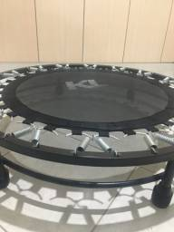 Mini Cama Elastica Trampolim Jump- KLMASTERFITNESS e Aparelho de Abdominal