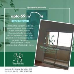 Título do anúncio: Apartamento para venda  HYDE PARK 3 quartos em  Jaú - SP