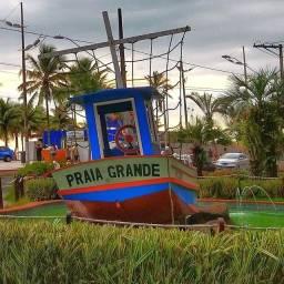 Apto Temporada no Canto do Forte na Praia Grande / Sp