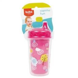 Copinho Fun 250ml - Rosa - Buba Toys