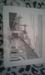 Desenhos Historicos da cidade de Salvador