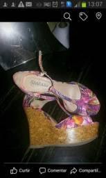 Sandália gato e sapato