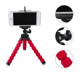Mini tripé flexível para smartphones ou câmeras digitais