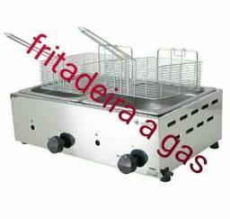 Fritador a gas