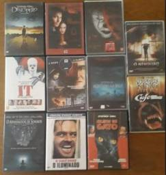 Coleção de filmes de Stephen King(novos, semi-novos e usados)