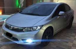Honda Civic 2014 automático. multimidia, couro, top de linha, aceito trocas - 2014