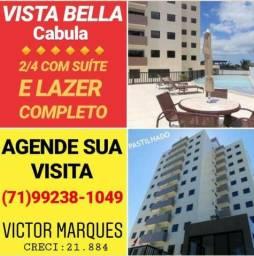 """"""" Oportunidade """" 2/4 - Apartamento no Cabula -Vista Bella / Vista Bela - Imóvel Novo"""