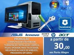 PC Computador Windows Office WiFi Peças