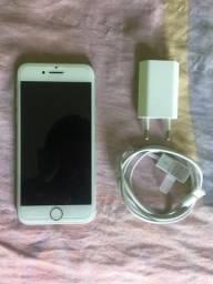 Iphone 7 cinza de 32gb semi novo