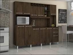 Cozinha Petra 11 Pts, 2 Gts e Mini Adega ( Em até 12 X sem Juros )
