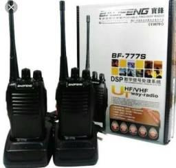 Rádio comunicador ht baofeng